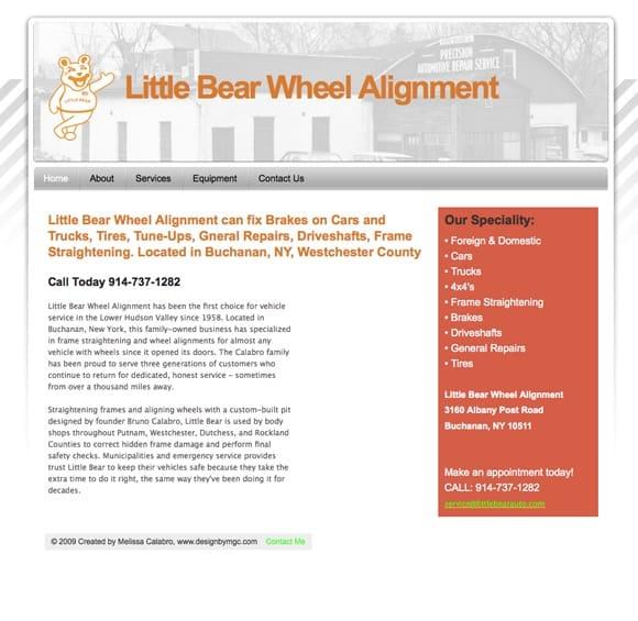 little bear wheel alignment