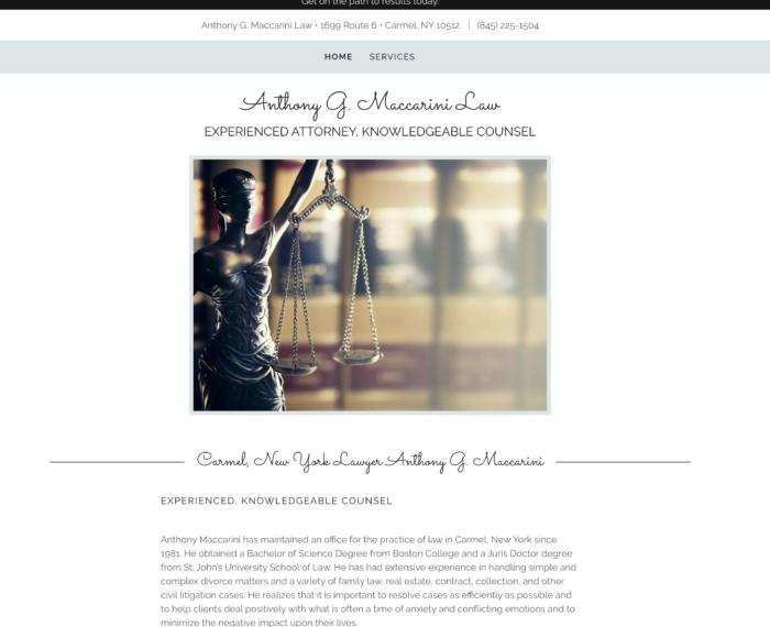 Antony Macarrini law